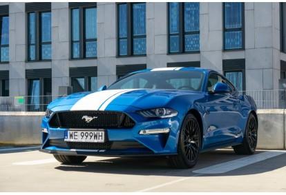 Wynajem samochodu Ford Mustang GT w Warszawie