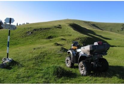 Górska wyprawa quadami w okolicy Jeleniej Góry