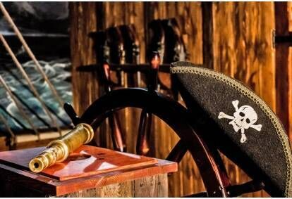 Wejście do pokoju zagadek Statek Piratów