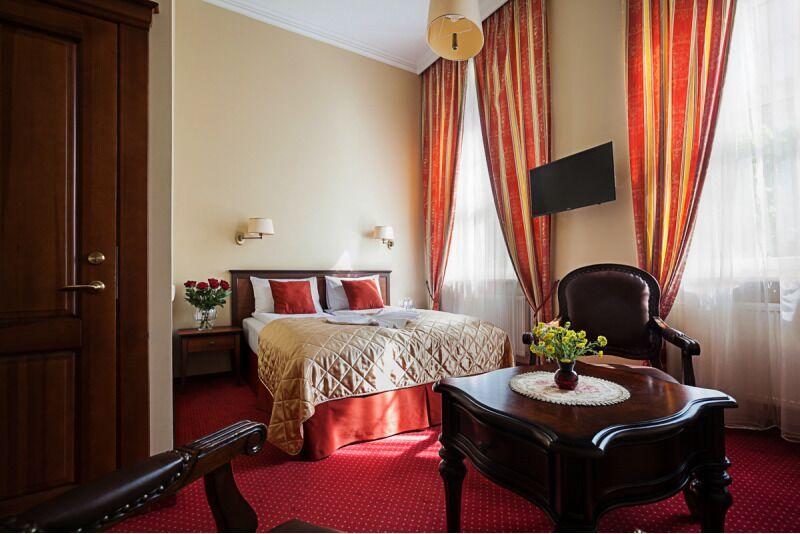 """Romantyczny wieczór dla dwojga w hotelu """"Conviva"""" w Poniewieżu na Litwie"""