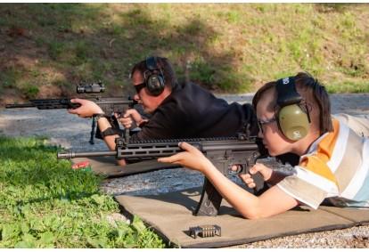 Strzelanie dla dwojga z pakietem Silver w Brzegu Dolnym