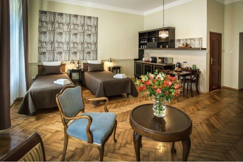 Romantyczny pobyt dla dwojga w Scharffenberg Apartments w Krakowie