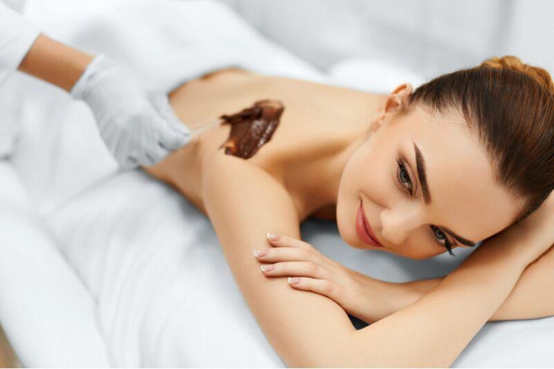 Masaż czekoladowy w salonie Pełny Luz SPA