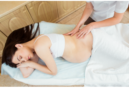 Popołudnie w Spa dla kobiety w ciąży