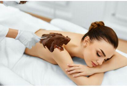 Masaż relaksacyjny na gorącej czekoladzie w Bajeczny SPA & Salon