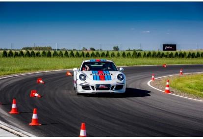 Jazda Porsche 911 na torze Kielce z pakietem Blue