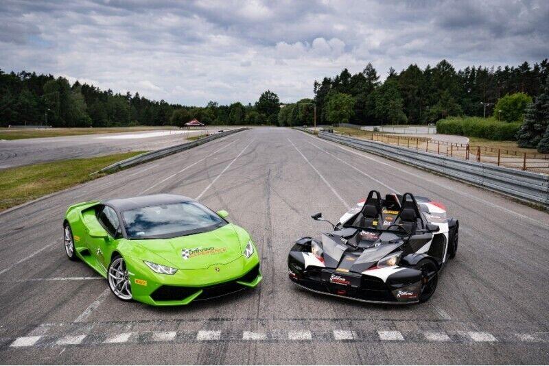 Lamborghini vs KTM X-Bow w Kielcach z pakietem Gold
