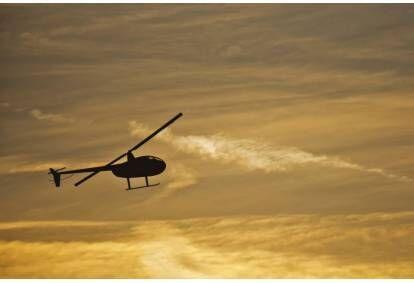 Romantyczny lot widokowy śmigłowcem