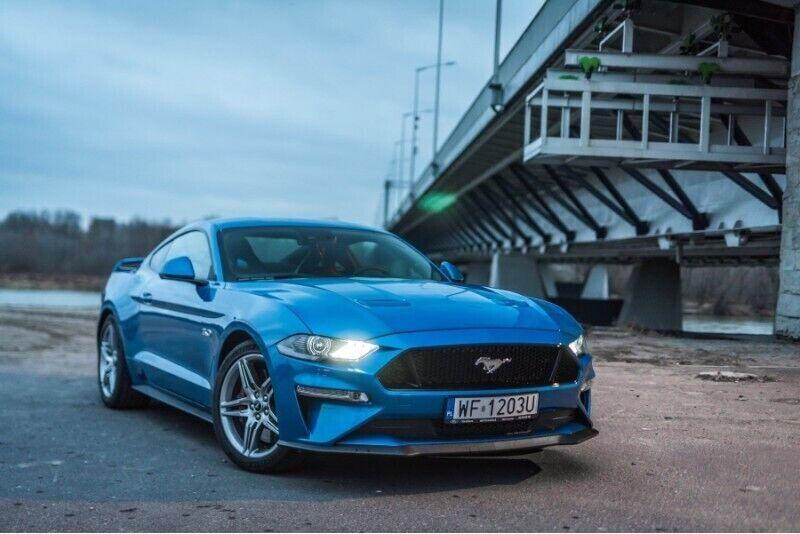 Dzień z Fordem Mustangiem w Łodzi lub Warszawie