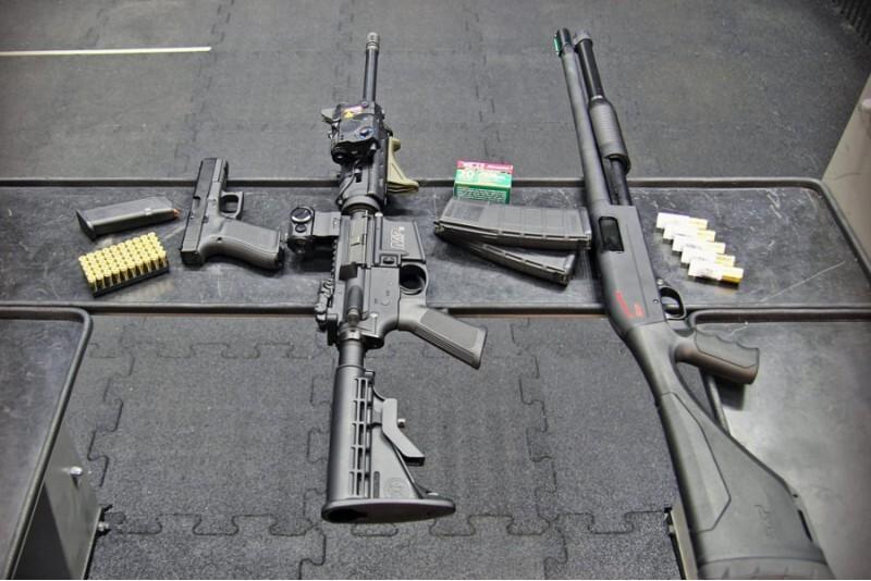 Strzelanie z pakietem WEST w Gdyni