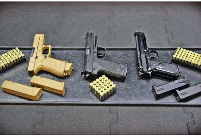 Strzelanie z pakietem PISTOLETY w Gdyni