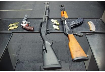 Strzelanie z pakietem TWARDZIELA w Gdyni