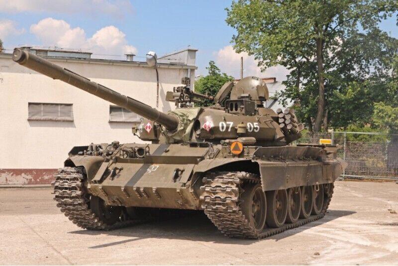 Poprowadź czołg T-55