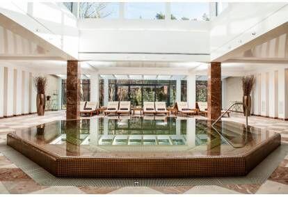 Wizyta w kompleksie basenowo-saunowym w hotelu Vanagupe w Połądze
