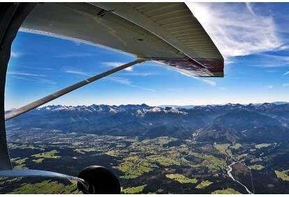 Lot widokowy w Tatrach albo Beskidach