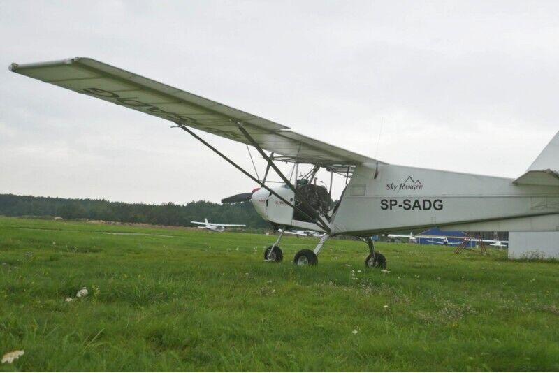 Szkolenie wstępne pilota samolotu ultralekkiego w Toruniu lub Łebie
