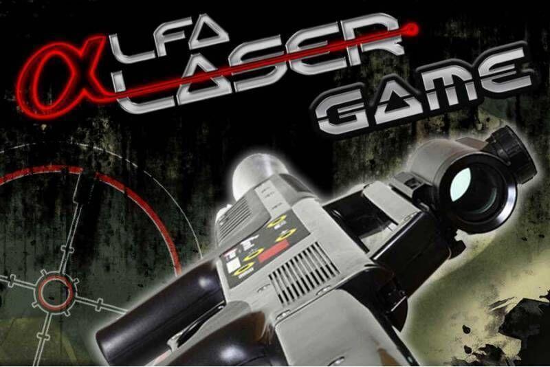 Paintball laserowy dla 4 osób w Łodzi