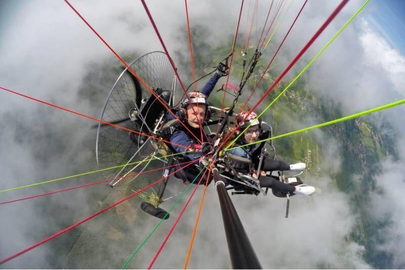 Lot motoparalotnią nad Beskidami (poniedziałek-piątek)