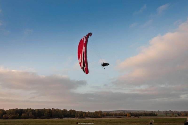 Lot motoparalotnią nad Beskidami (sobota-niedziela)