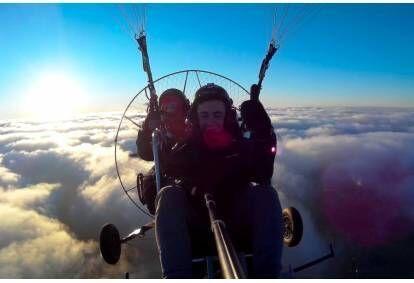 Lot motoparalotnią nad Beskidami dla dwojga (poniedziałek-piątek)