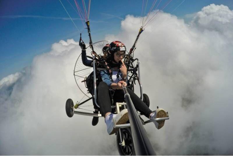 Lot motoparalotnią nad Beskidami dla dwojga (sobota-niedziela)