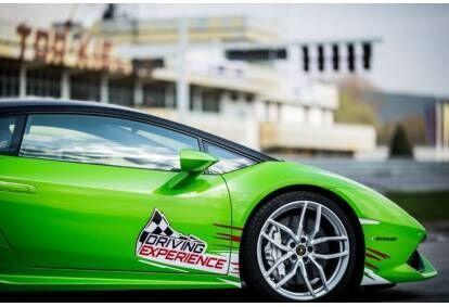 Jazda za kierownicą Lamborghini Huracan na torze Kielce
