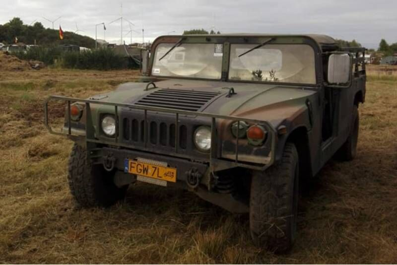 Przejażdżka pojazdem Humvee (za kierownicą)