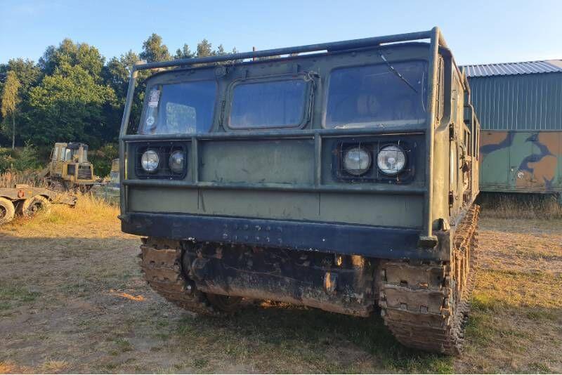 Przejażdżka za kierownicą ciągnika artyleryjskiego ATS