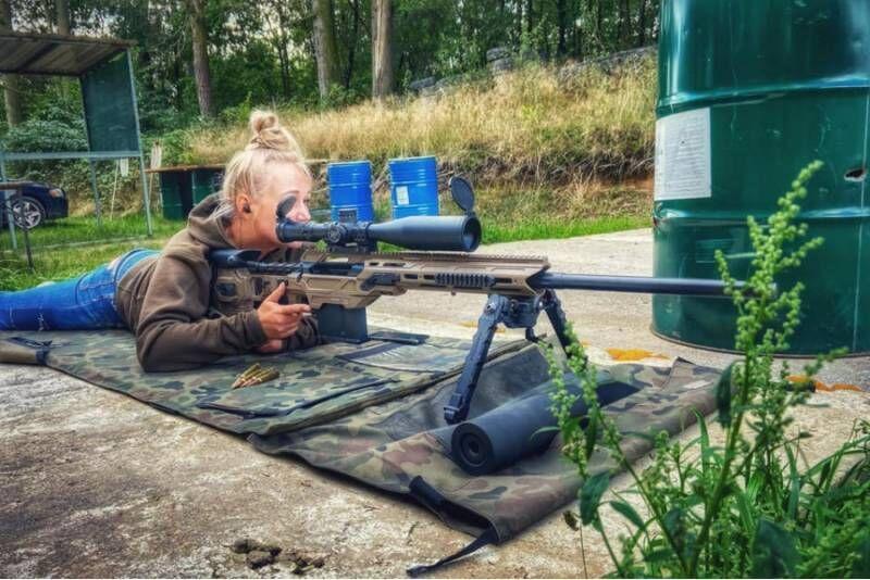 Strzelanie bojowe w Malechowie