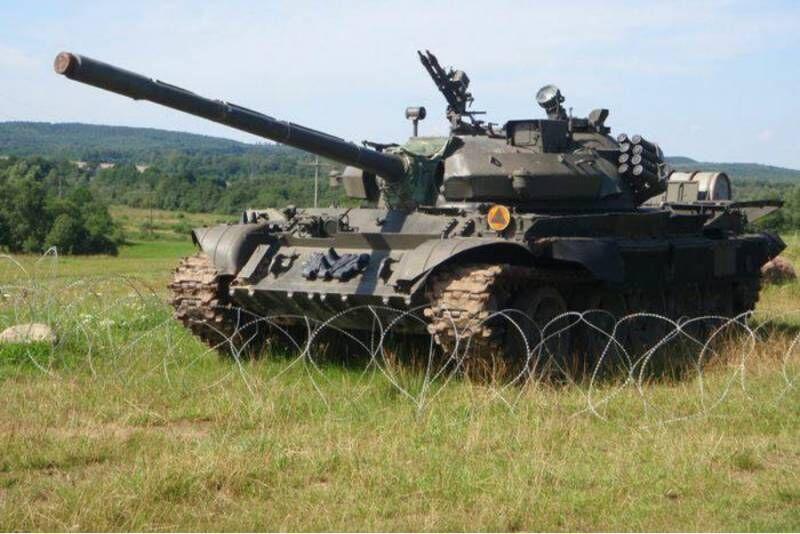 Przejażdżka czołgiem T-55