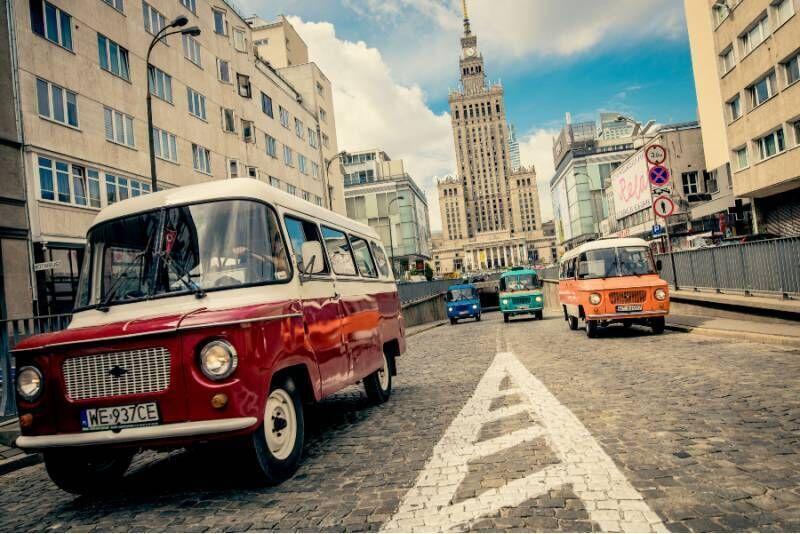 Wycieczka kultową Nysą 522 w Warszawie