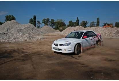 Jazda Subaru z mistrzem Polski