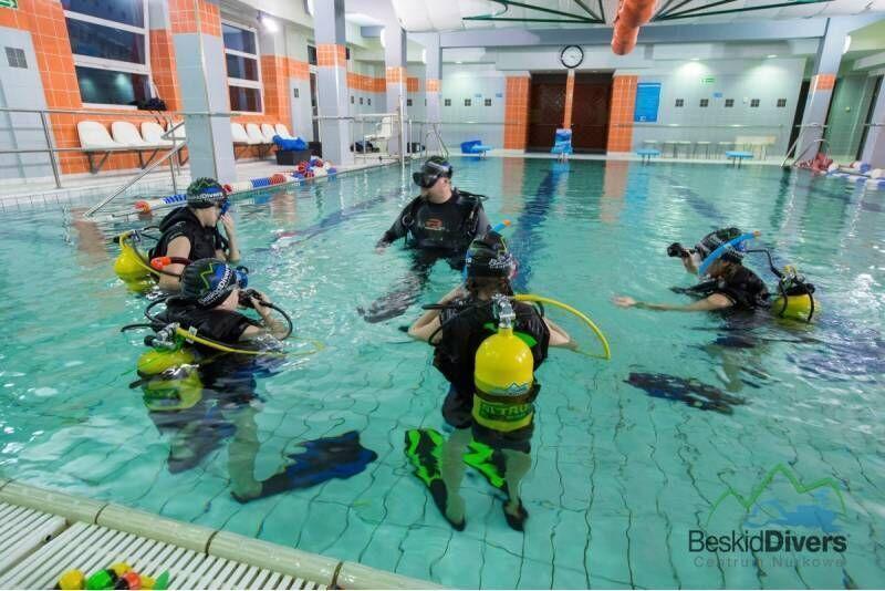 Podstawowy kurs nurkowy w Centrum nurkowym Beskid Divers