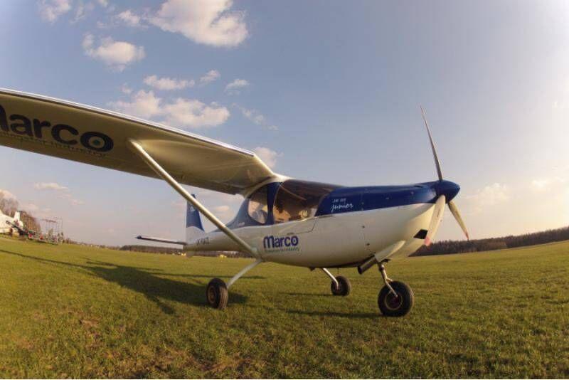 Lot widokowy samolotem ultralekkim w Rybniku