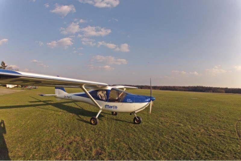 Lot VIP samolotem ultralekkim w Rybniku