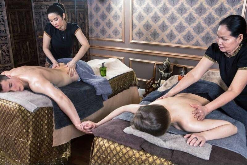 Relaksacyjny masaż dla pary w salonie Tajskie SPA w Warszawie