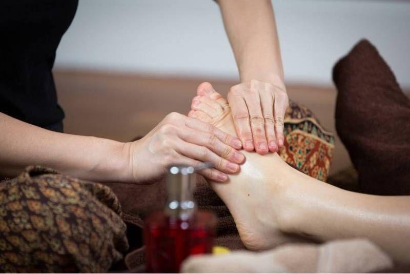 Tajski masaż stóp (refleksologia) w salonie Tajskie SPA