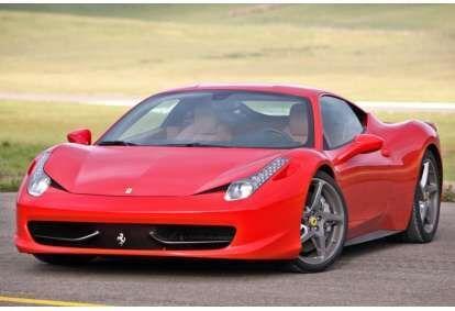 Przejażdżka za kierownicą samochodu Ferrari Italia 458
