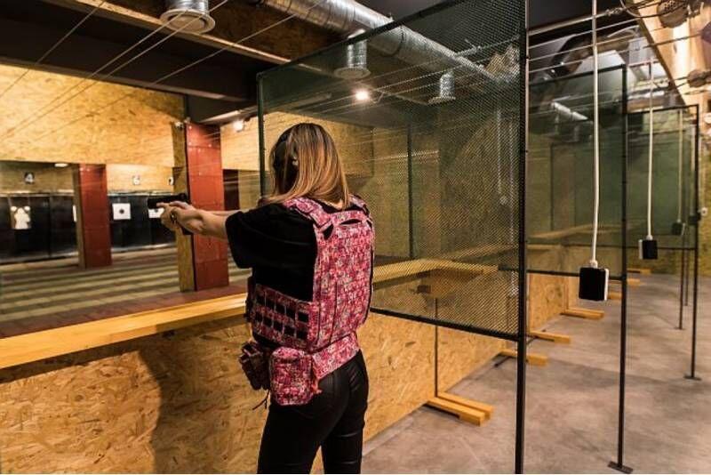 Strzelanie z pakietem dla dwojga w strzelnicy Hajduki