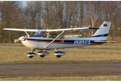 Lot samolotem nad Kownem (3 osoby)