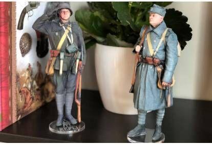 Figurki 3D dla dwojga w studiu Repli w Krakowie