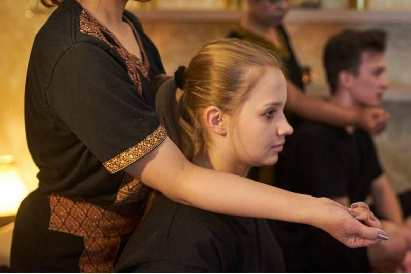 Masaż tajski pleców, szyi i głowy w Warszawie