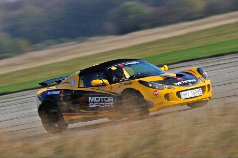 Jazda Lotusem z Fast Forward