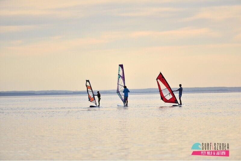 Kurs windsurfingu Pod Kontrolą w Jastarni