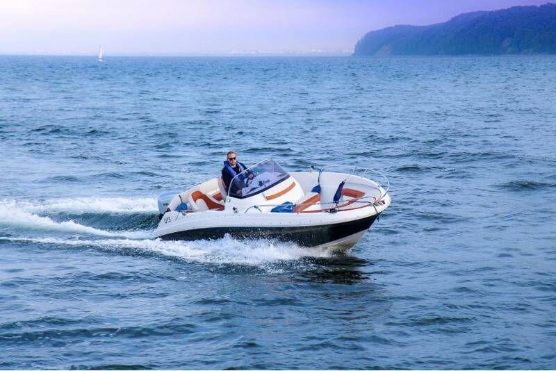 Rejs łodzią motorową po Zatoce Gdańskiej
