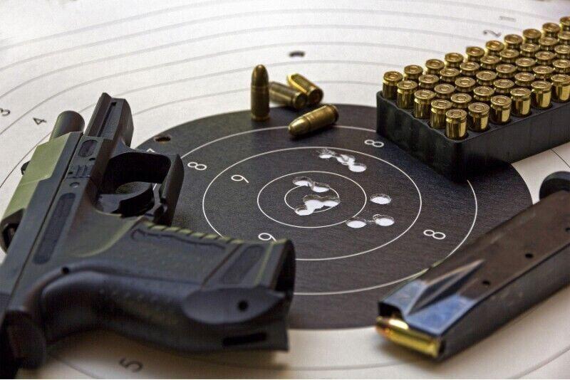 Strzelanie z pakietem Start w strzelnicy FSO w Warszawie