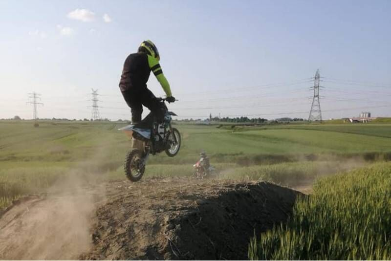 Jazda motocyklem pitbike z instruktorem Enjoy Enduro&PitBike