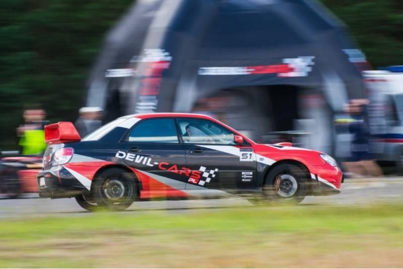 Przejażdżka za kierownicą samochodu Subaru Impreza WRX