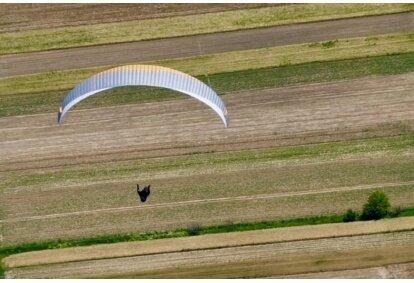 Lot paralotnią dla dwóch osób w tandemie w okolicach Białegostoku