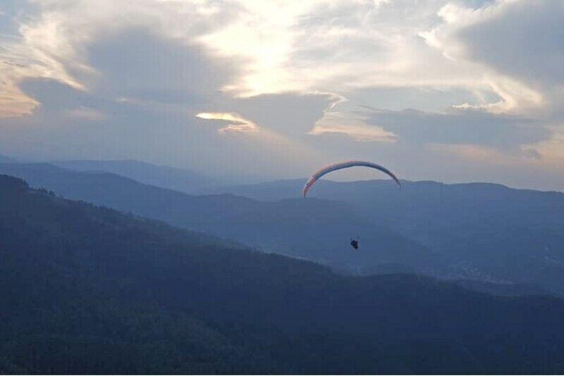 Lot paralotnią z instruktorem w Tatrach